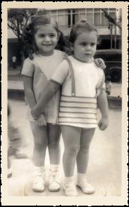Com Anna Maria, amiga desde sempre